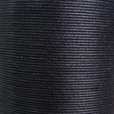 Superfine Waxed Linen Thread | Black | MS001