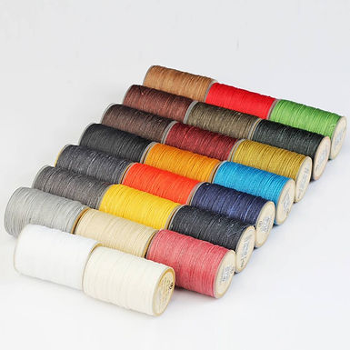 Waxed Polyester Hand Sewing Thread   Wuta