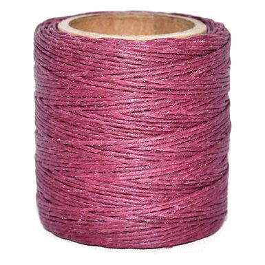 Waxed Polycord   Raspberry   Maine Thread