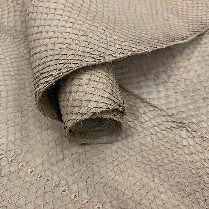 Salmon Suede Leather | Barley Beige
