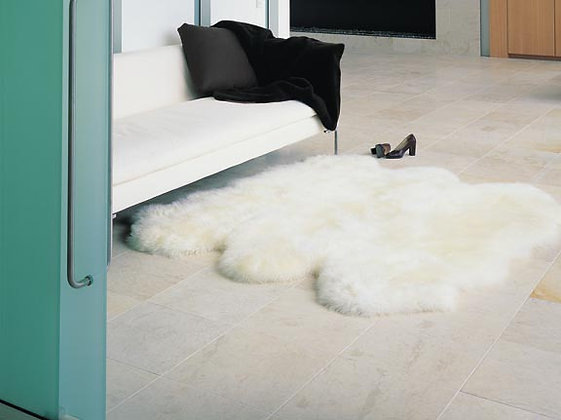 Longhair Sheepskin Rug | Six Piece