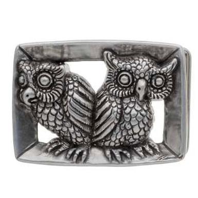 3D Belt Buckle | Owls Design