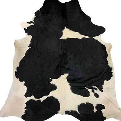 Cowhide Rug   Black and White   XL   10107