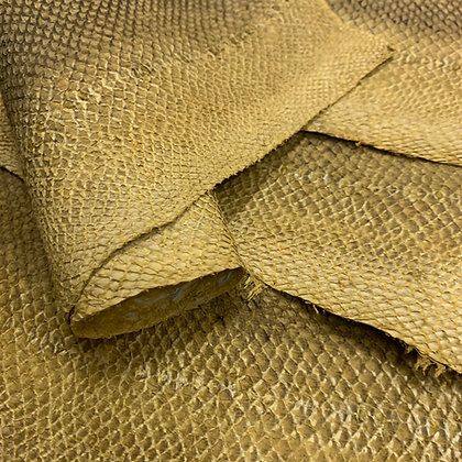 Salmon Natural Leather | Yellow