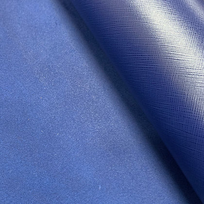 Saffiano Leather | Royal Blue | Italy