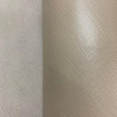 Saffiano Leather | Cream
