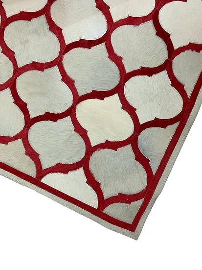 Cowhide Design Rug | Morocco