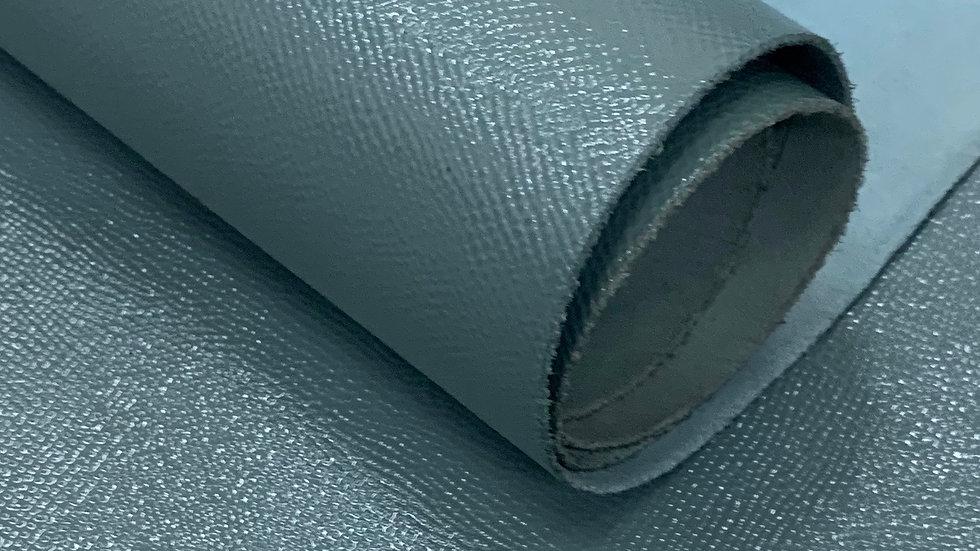 High Gloss Epsom Leather | Avio Blue