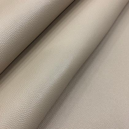 Caviar Grain Leather | Beige | By the Sqft