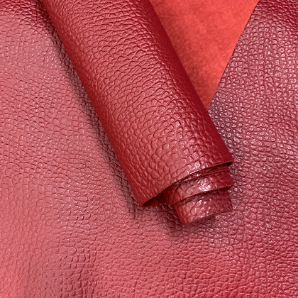 Cartier Pebble Leather  | Red
