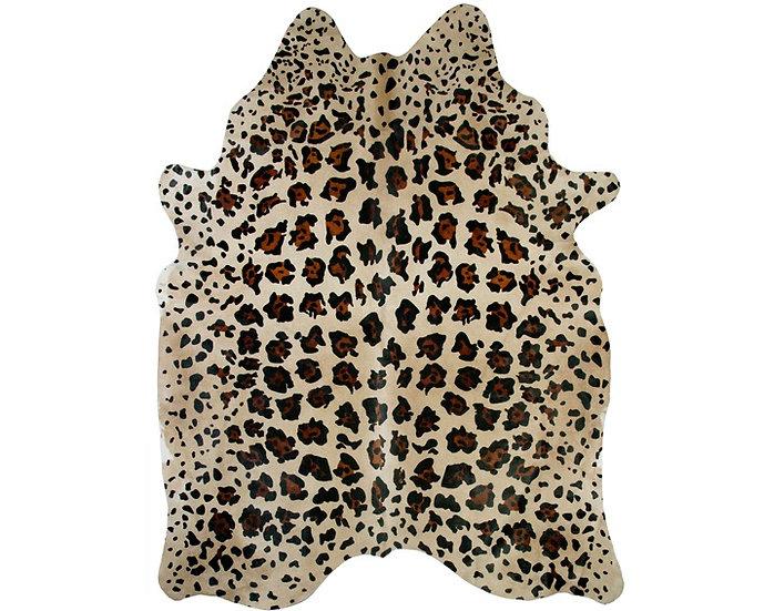 Jaguar Printed Cowhide Rug