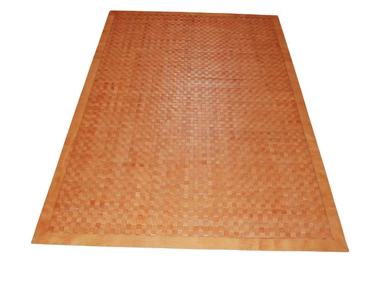 Leather Rug | Braided | 120cm x 180cm