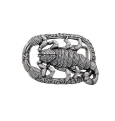3D Belt Buckle   Scorpion  Design