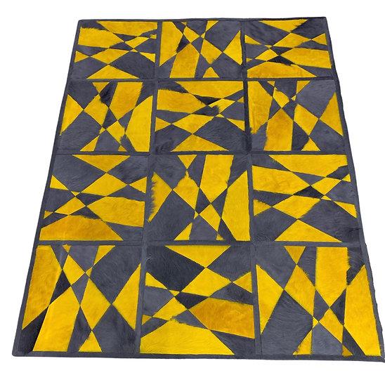 Cowhide Design Rug | Shatter
