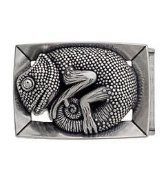 3D Belt Buckle | Chameleon Design