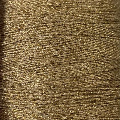 gold metallic sewing thread