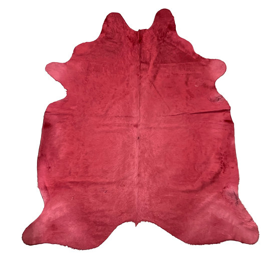 Dyed Cowhide | Cerise