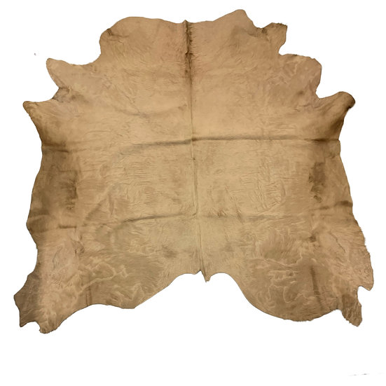 Italian Dyed Cowhides   Sand