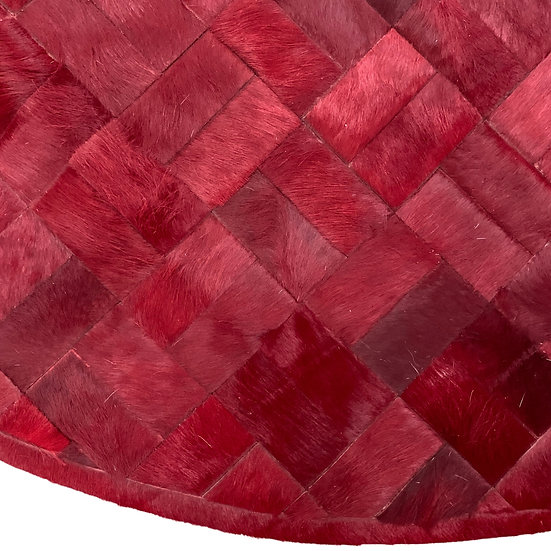 Cowhide Design Rug   Aspre Round