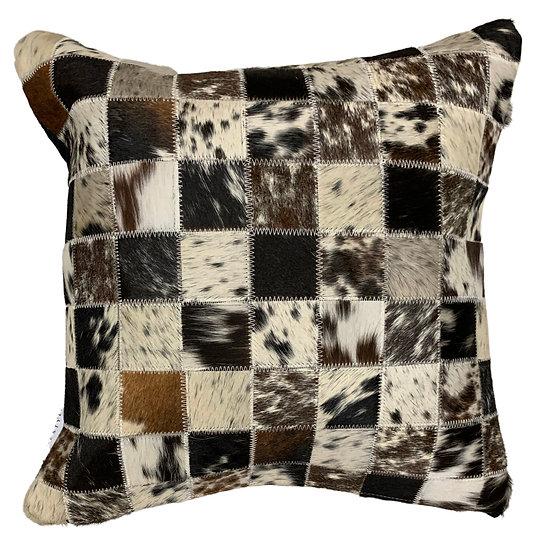 Cowhide Pillow   Exotic Speckle   45cm x 45cm