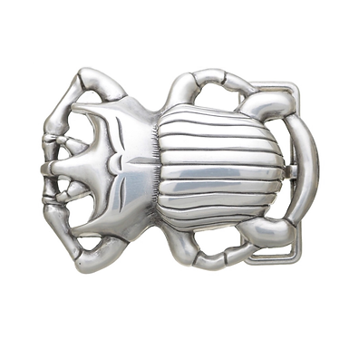 3D Belt Buckle   Scarab Beetle Design