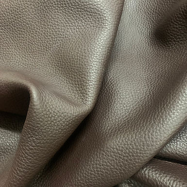 Milled Vegetable Tanned Hide | Chocolate
