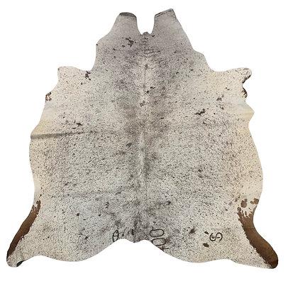 Cowhide Rug   Brown Speckle   L   10087