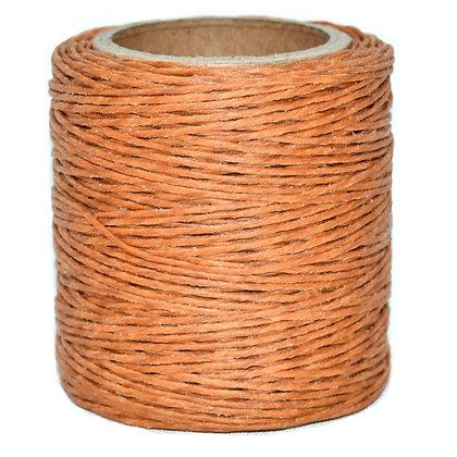 Waxed Polycord   Orange   Maine Thread
