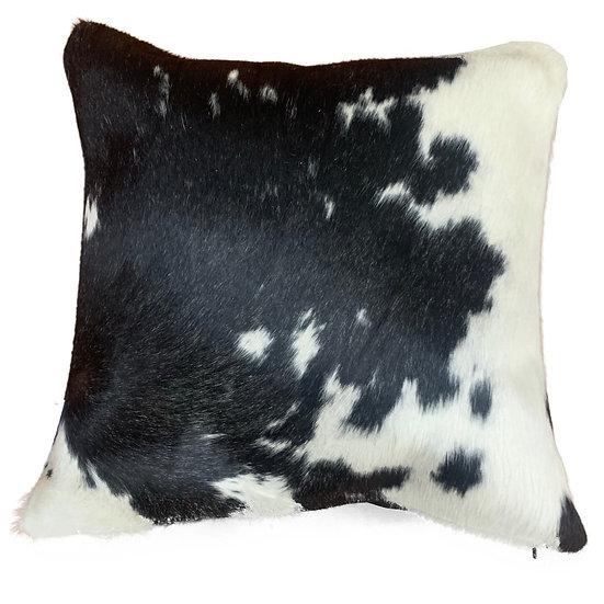 Soho Cowhide Pillow | Black and White | 45cm x 45cm