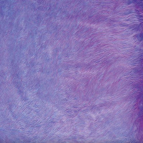 Italian Dyed Cowhide Rug | Contrast | Lavender / Fuchsia
