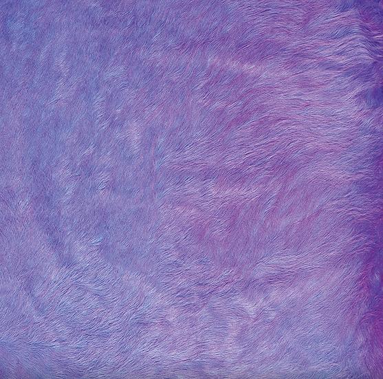 Italian Dyed Cowhide Rug | Contrast | Lavender / Fuchsia
