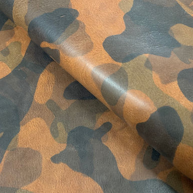 El Vaquero Camo Leather | Marrone | La Perla Azzura