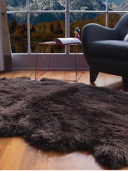 Longhair Sheepskin Rug | Four Piece