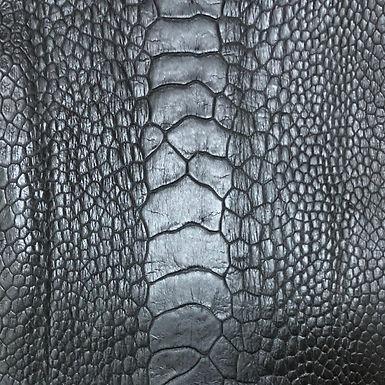 Ostrich Leg Leather | Matte Finish
