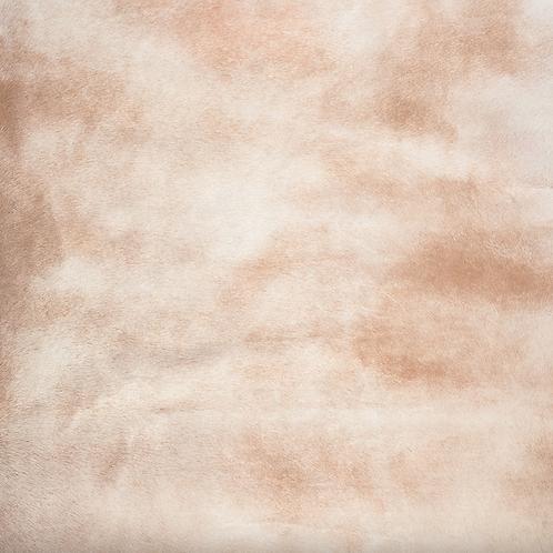 Italian Dyed Cowhide Rug | Corrosion | Pina Colada
