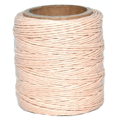 Waxed Polycord | Natural | Maine Thread