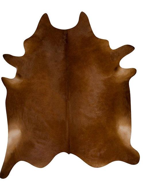 Natural Cowhide Rug Brown