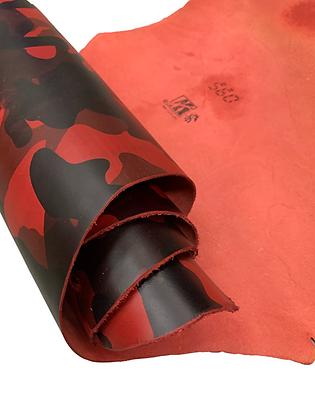 Camo Belly | Red | Conceria Walpier