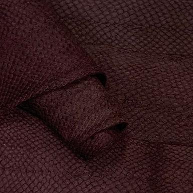 Salmon Suede Leather   Deep Purple