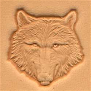 Tandy Leather   Wolf Head Stamp   88459-00