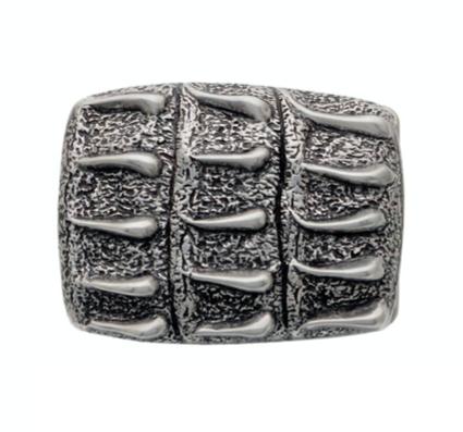 3D Belt Buckle | Crocodile Scale Design