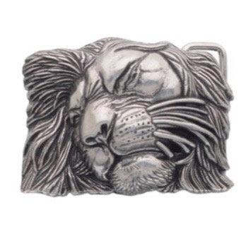 3D Belt Buckle | Lion Head Design