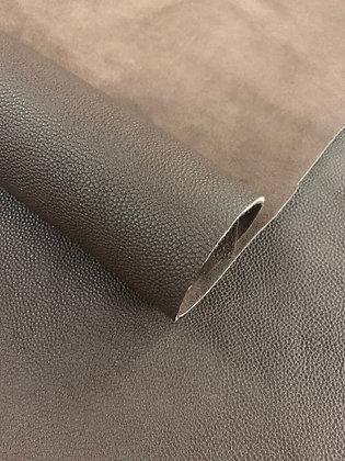 Togo Shrunken Calf Leather | Dark Brown
