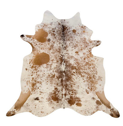 Cowhide Rug | Brown & White Speckle