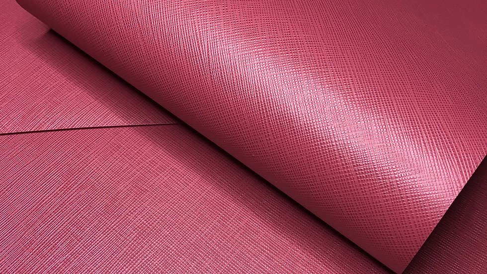 Saffiano Leather | Orchid Pink | Italy