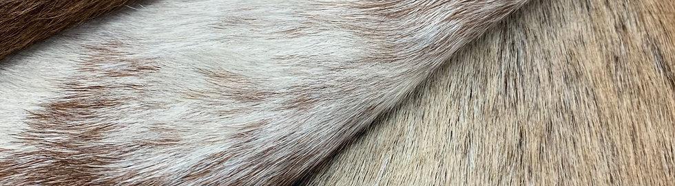 Natural Goat Hide Rug