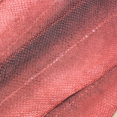Salmon Natural Leather | Red