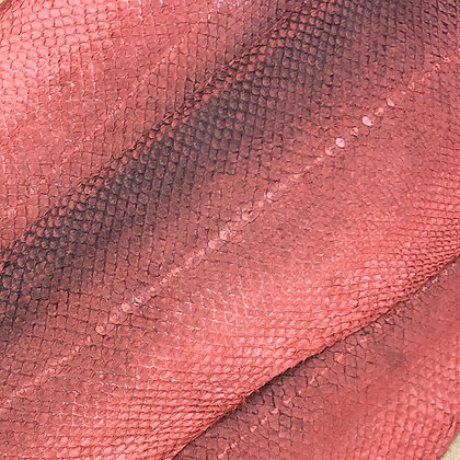 Salmon Natural Leather   Red