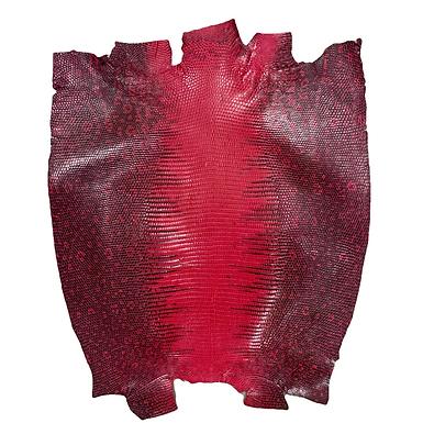 Lizard | Dark Pink | Back Cut