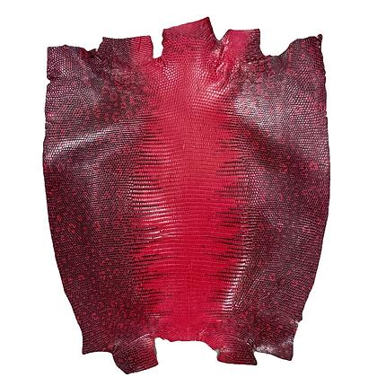 Lizard   Dark Pink   Back Cut